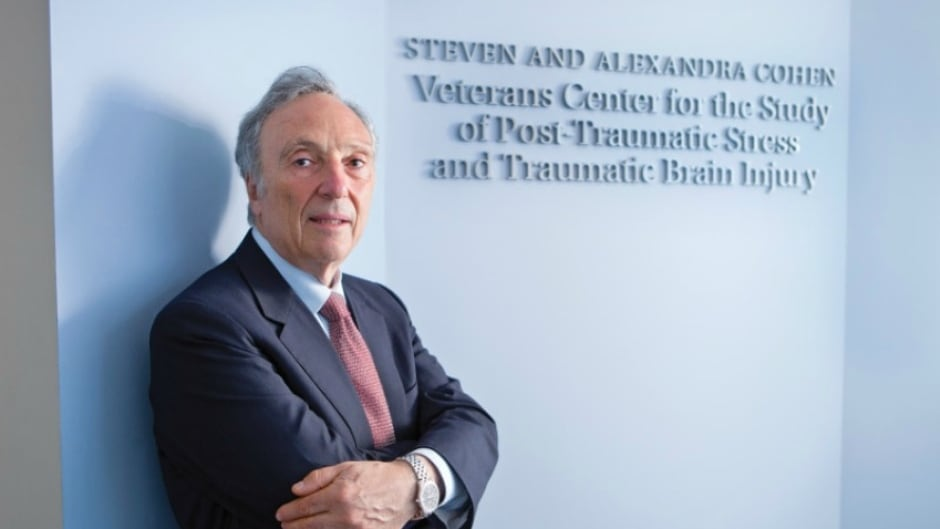 Dr. Charles Marmar has spent much of his career devoted to the study of post-traumatic stress disorder.