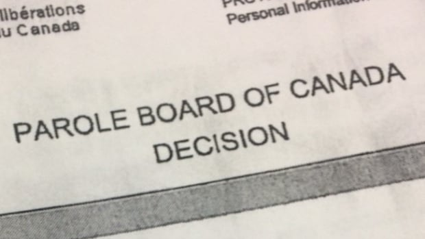 The Parole Board of Canada decision says day parole is not a manageable option for Andrew Paul Johnson at this time.