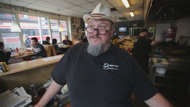 James McKinnon opened Dangerous Dan's 18 years ago and named the restaurant after his grandfather.