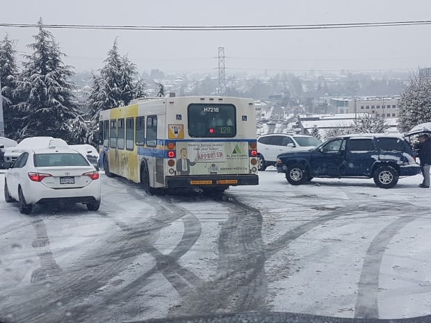 snow accident vancouver burnaby
