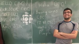 17-year-old Georges Awaad can speak 16 languages
