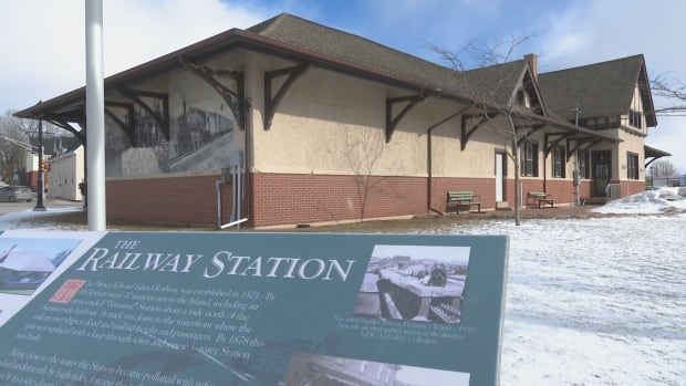 Designation as a historic property would help to protect distinctive features of the train station's exterior.