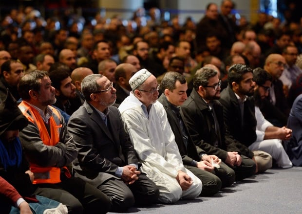 Mosque Shooting Image: Thousands Join Families Of Mosque Attack Victims At Quebec