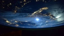 Italy from the ISS