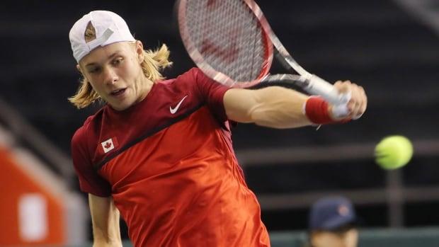 Dan Evans beats Denis Shapovalov in Britain's Davis Cup opener