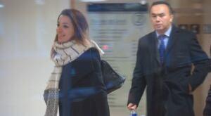 Lawyer Leela Yousefi and Lyndon Chen