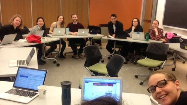 McGill law students participate in the nationwide research-a-thon Saturday.