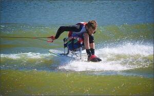 Blake Lamontagne Sask. water skier