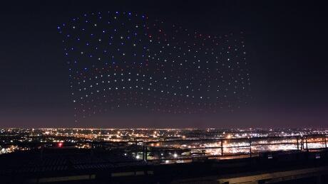 Intel drones