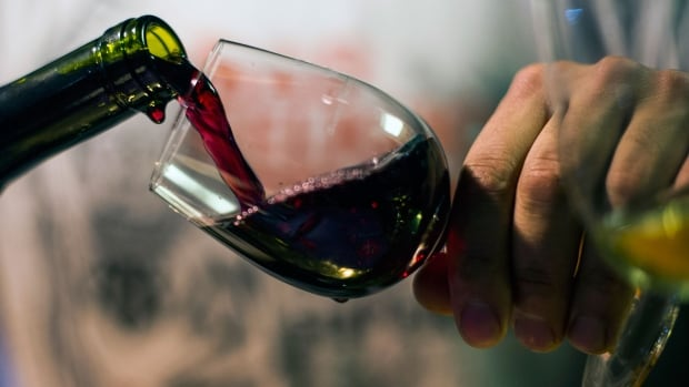 Beaujolais Nouveau red wine