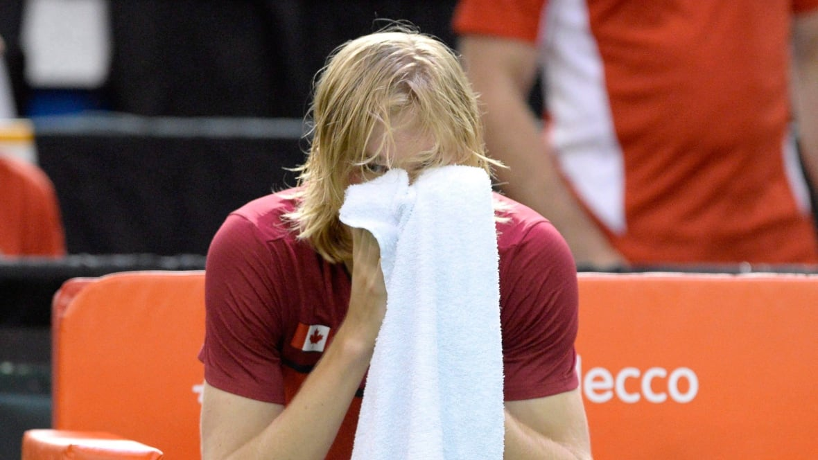 Canada's Denis Shapovalov fined for smashing ball in tennis umpire's eye