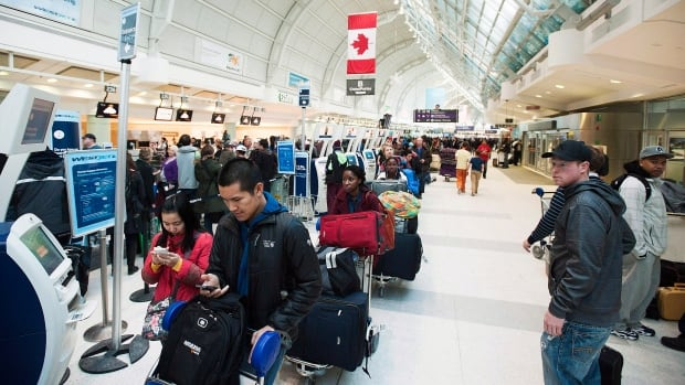 Toronto's Pearson International Airport is getting 130 self-serve border clearance kiosks with facial recognition technology starting in May.