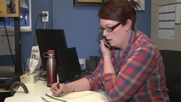 Registered nurse Rachael Edwards is part of a mobile team delivering end of life care to some of Calgary's most vulnerable people.