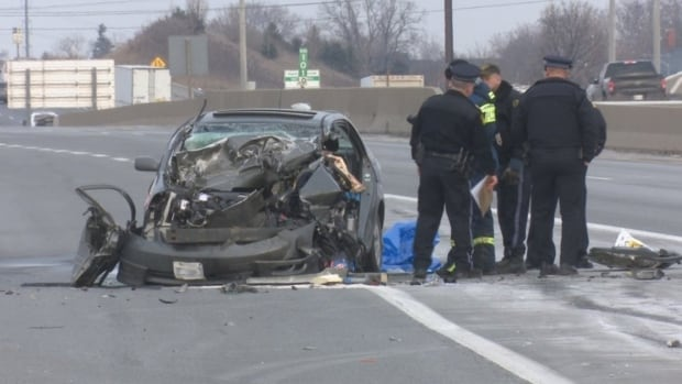 Hamilton woman critically injured, WB QEW shut down through part of Burlington
