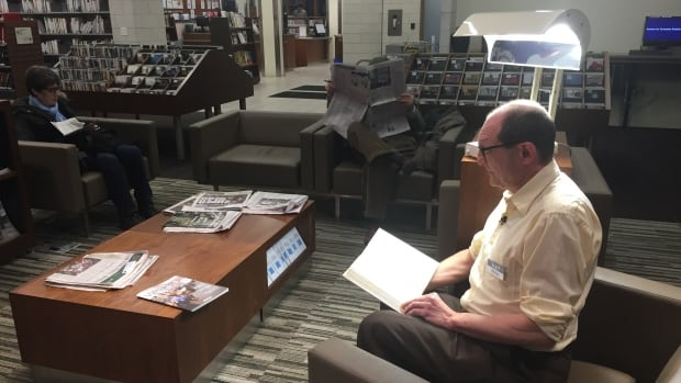 Tiziano Vanola, head of the Toronto Public Library's Brentwood Branch, said he was happy to flick the switch on a pilot project that will give people free access to light therapy lamps.