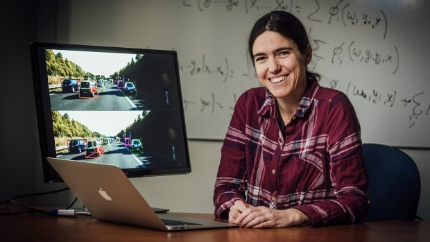 Raquel Urtasun is one of the winners of the Natural Sciences and Engineering Research Council's E.W.R. Steacie Memorial Fellowships. Urtasun is helping improve artificial intelligence in autonomous vehicles.