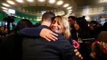 Iran Student Arrives