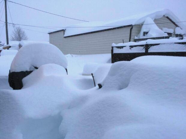 Crowsnest Pass snow