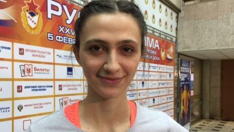 Maria Kuchina Russian highjumper