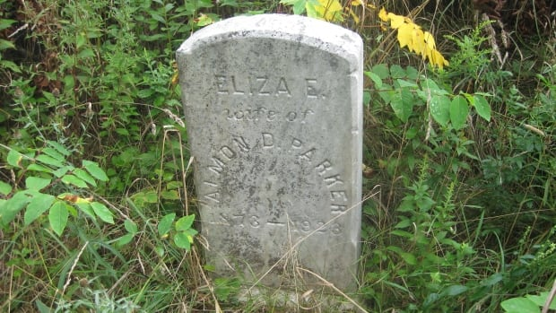 This headstone was found in a forgotten African Nova Scotian cemetery in Granville Ferry, N.S.