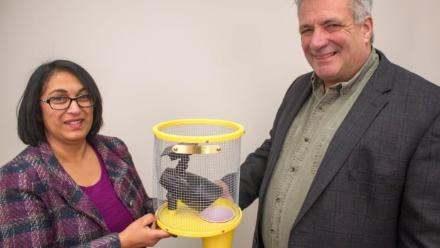 Christine Noronha, an Agriculture and Agri-Food Canada entomologist, had created the trap, and Ralph Yeo decided to mass-produce it.