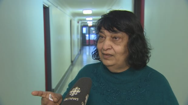 Diane Ragaram has lived in her apartment at 87 Jameson Ave. since 1977 and says she and her neighbours have repair requests dating back to the summer.