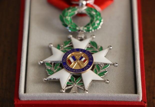 Legion of Honour medal