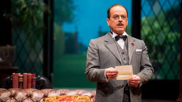 Lorne Kennedy stars as Agatha Christie's most famous character, Hercule Poirot, in the Royal MTC's production of Black Coffee, the flagship production of ChristieFest.
