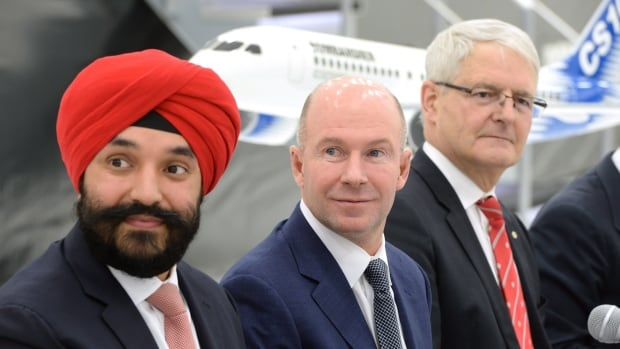 Bombardier federal funding