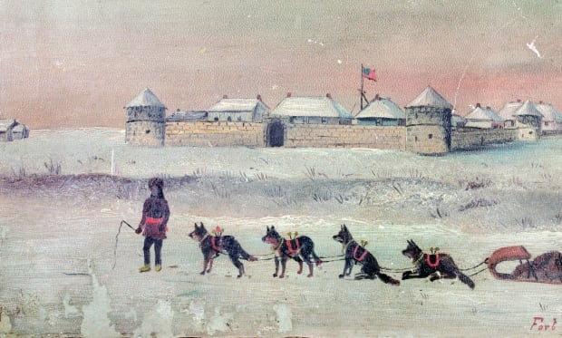 Fort Garry, 1869 Lionel Stephenson