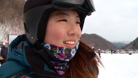 Kim So-hee, skier