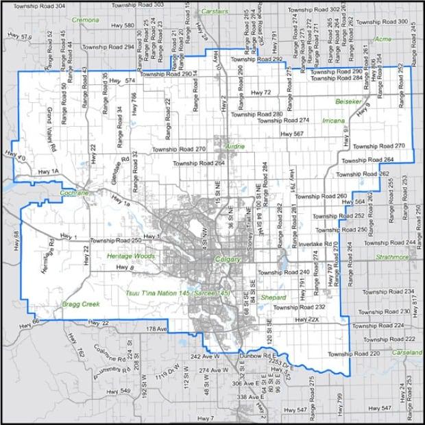 calgary metro area stats can