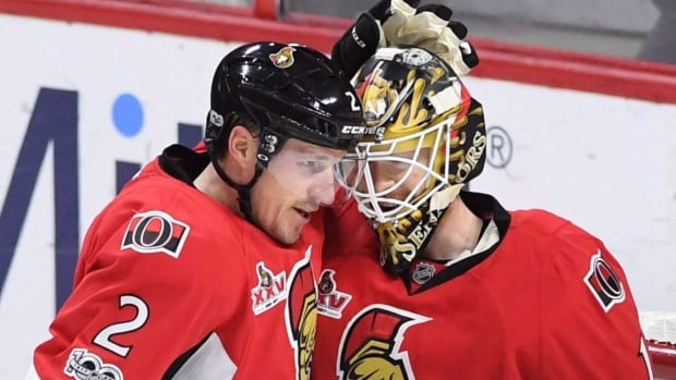A year later, the Senators are pleased with the addition of former Maple Leafs defenceman Dion Phaneuf, who has become an effective net-front presence on Ottawa's power play (11 points) and on pace to match the 32 total points he recorded last year between Toronto and Ottawa.
