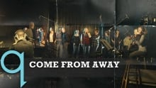 """The cast of Come From Away perform """"Welcome to the Rock"""" live in Studio q"""