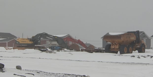 Witless Bay subdivision construction