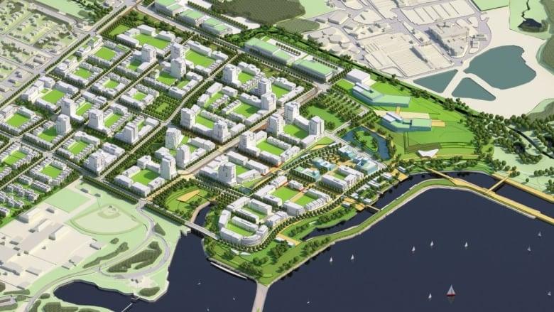Mississauga waterfront plan