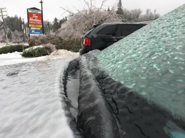 Abbotsford freezing rain