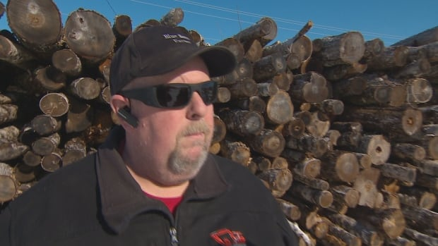 Brian Murray of Blue Barn Farms in Hammonds Plains, N.S., suggests people contact their councillor if they have concerns about potential new rules for indoor wood burning devices.