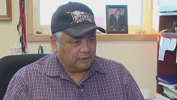 'Our people are always asking for an apology and compensation, but when we go into these meetings, they say that those are not the places to deal with apology and compensation,' says Edward Sangris, chief of the Yellowknives Dene First Nation.