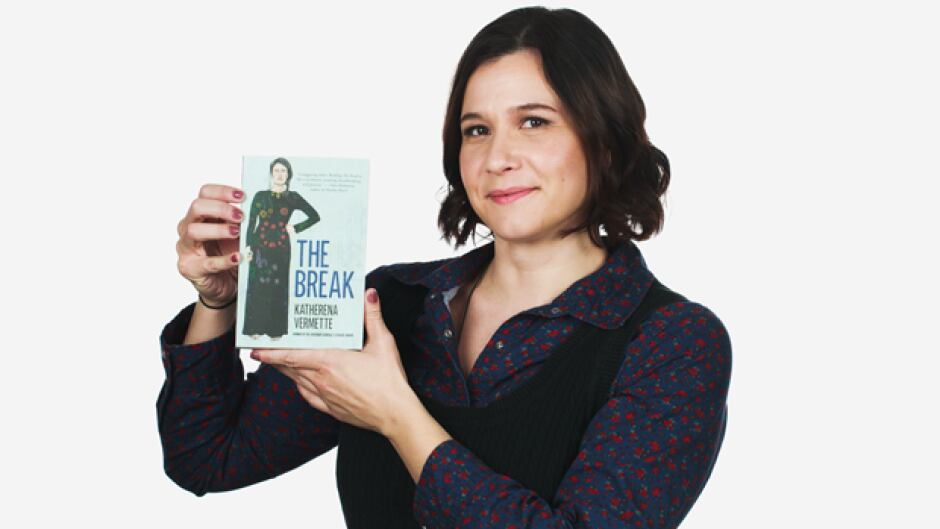 Katherena Vermette is the author of The Break.