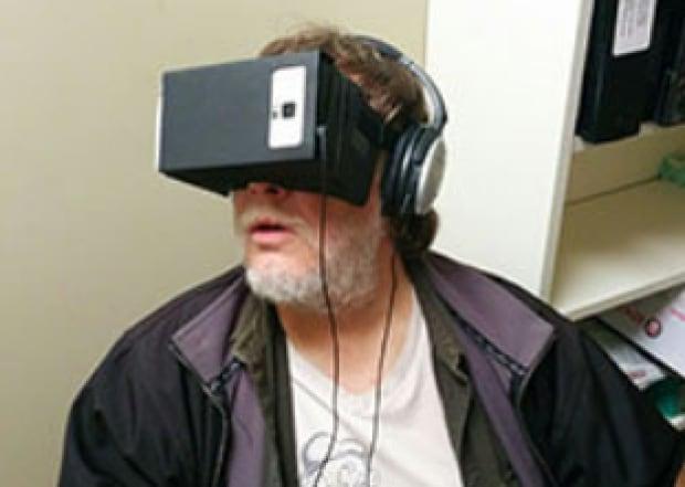 Chronic pain patient VR