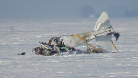 Robin Karlowsky's photos of Brunkild plane crash