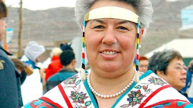 Manitok Thompson was born in Coral Harbour, Nunavut. She's a former politician, and an avid seamstress.