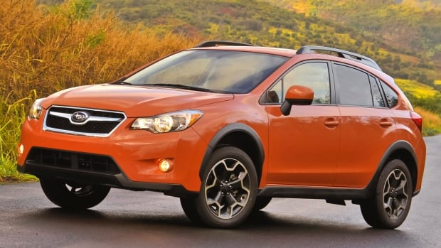 The 2013 Subaru XV Crosstrek finished first in the compact car category in the awards.