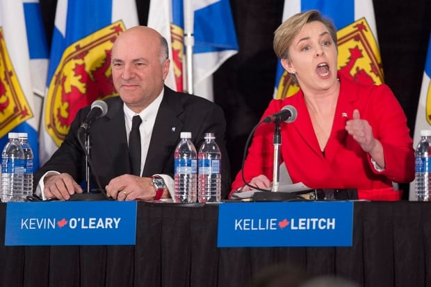 Conservative Leadership Debate Leitch O'Leary
