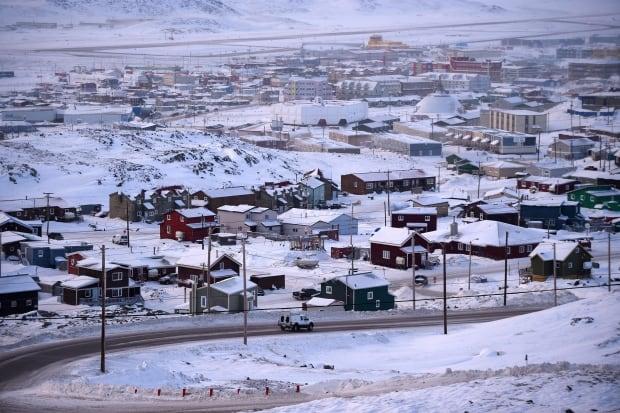 Iqaluit in February