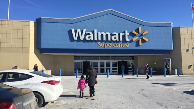 A school bus driver left a busload of children from Cedarview Middle School at this Walmart parking lot in Barrhaven for about 20 minutes Thursday afternoon.