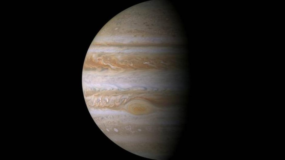 Cassini Jupiter portrait.