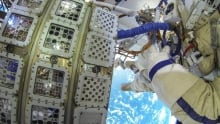 Algae on ISS