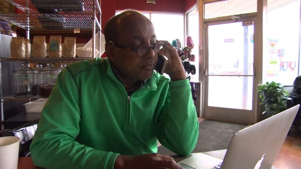 Omar Jamal, who is executive director of the Somali Community of Minnesota, often fields calls from people who are trying to sneak into Canada.